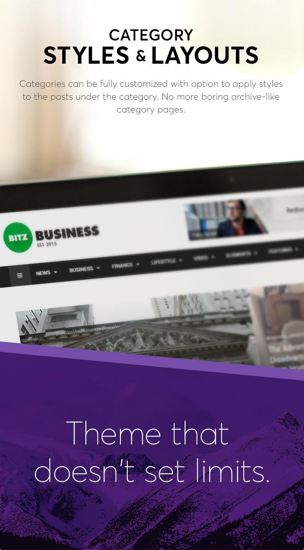 Bitz - News & Publishing Theme - 3