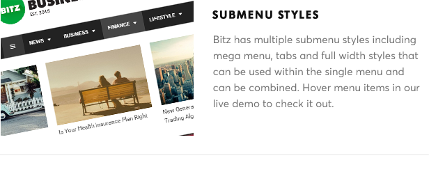 Bitz - News & Publishing Theme - 17