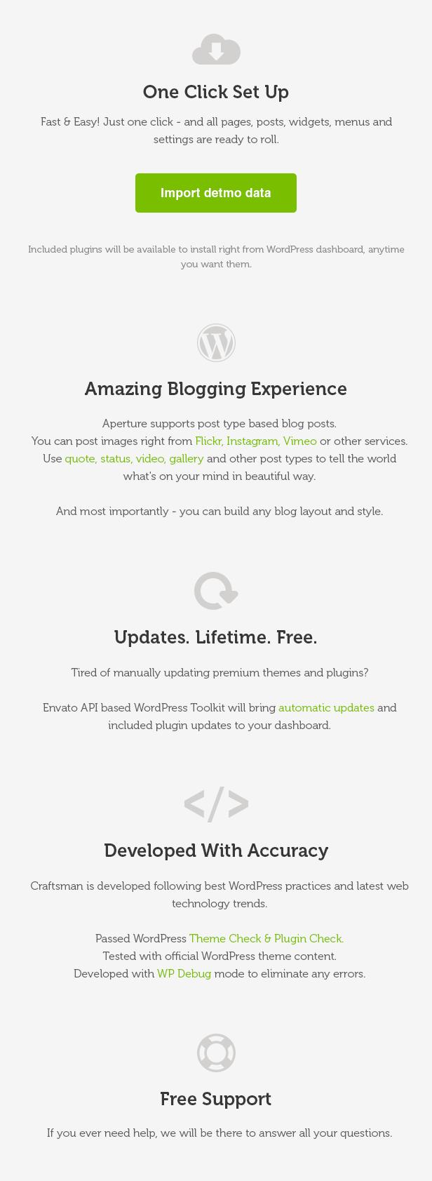 Craftsman | WordPress Craftsmanship Theme - 11